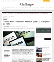 « Prime Now » : comment Amazon part à la conquête de Paris