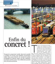 Transport durable,enfin du concret !